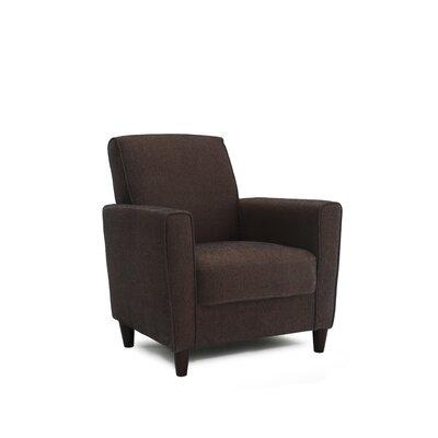 Harman Arm Chair Upholstery: Brown