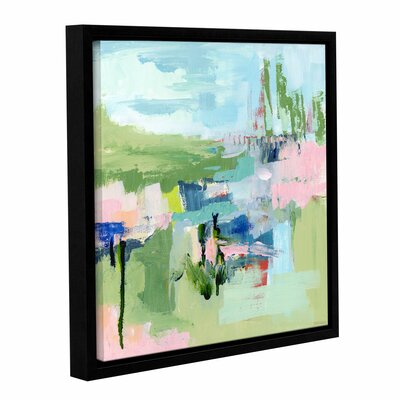 Intuition Abstract Framed Painting Print Size: 10