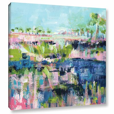 Another Summer Day II Painting Print on Wrapped Canvas Size: 10