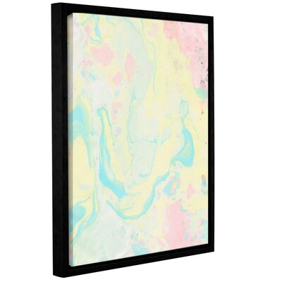 Marble II Framed Print of Painting Size: 10