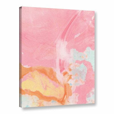 Marble III Print of Painting on Wrapped Canvas