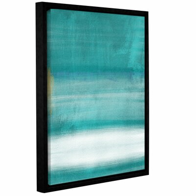 Blue Abstract II Framed Print of Painting Size: 10