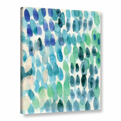 Waterfall I Print of Painting on Wrapped Canvas Size: 10