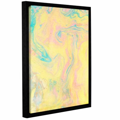 Marble I Framed Print of Painting Size: 10