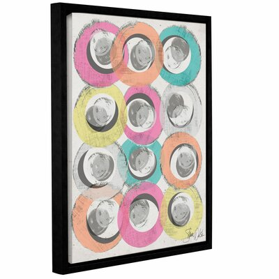 Circle Abstract I Framed Graphic Art Size: 10