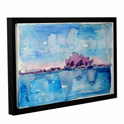 Wonder from Down Under Framed Painting Print Size: 12