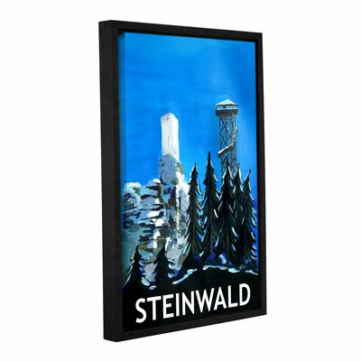 Steinwald Poster Framed Painting Print Size: 12
