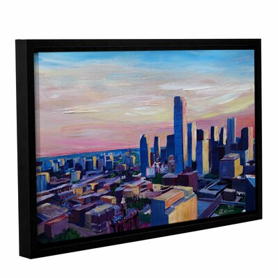 Dallas Texas Impressive Framed Painting Print Size: 12