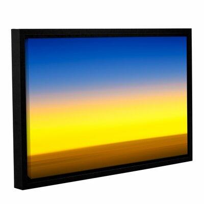 Sunset Over Saudi Framed Graphic Art Size: 12