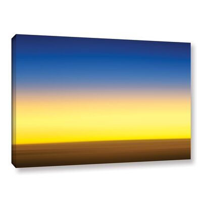 Sunset Over Saudi Graphic Art on Wrapped Canvas Size: 12