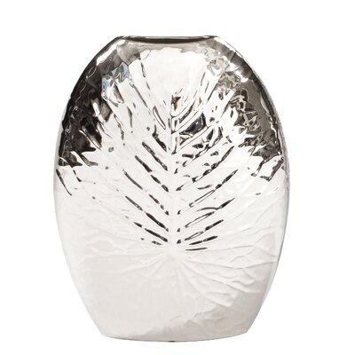 Crackled Leaf Table Vase Size: 16