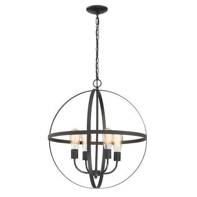 Washtenaw 4-Light Globe Pendant