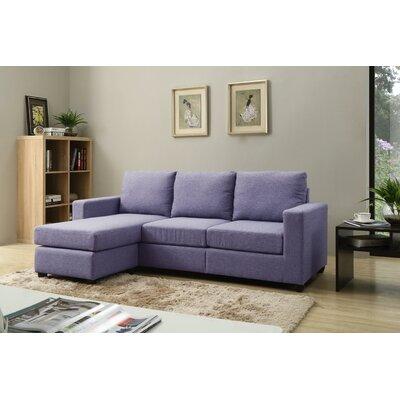 Adan Modular Sectional Upholstery: Blue