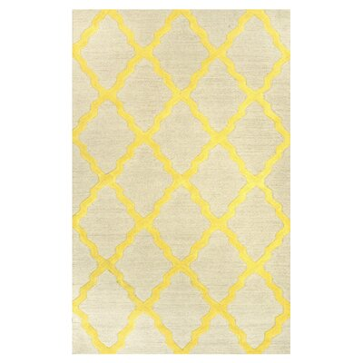 Tadlock Sunshine Moroccan Trellis Rug Rug Size: Rectangle 5 x 8