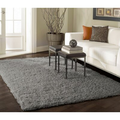 Ashlei Gray Area Rug Rug Size: Rectangle 67 x 9