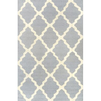 Terina Moroccan Trellis Spa Kilim Blue Area Rug Rug Size: Rectangle 5 x 8