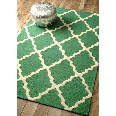 Tadlock Emerald Marrakech Trellis Rug
