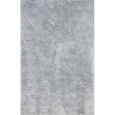 Shadwick Hand Tufted Light Gray Area Rug Rug Size: 5 x 8