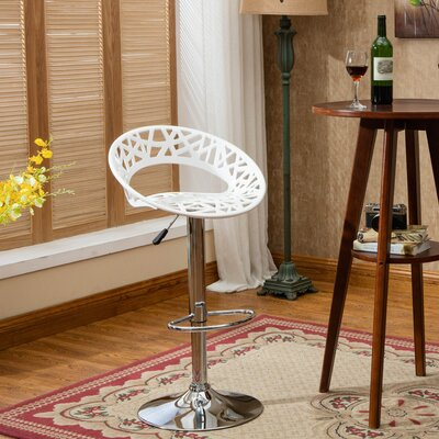 Herculis Adjustable Height Swivel Bar Stool
