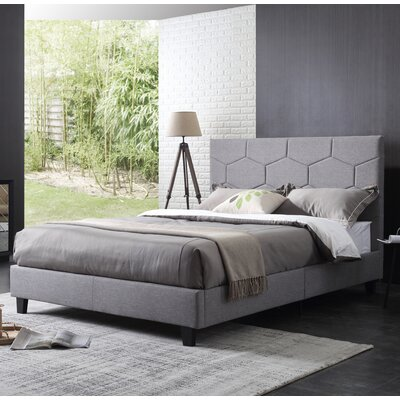 Herren Upholstered Platform Bed Size: Queen