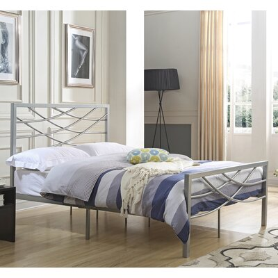 Castile Metal Platform Bed Size: Full
