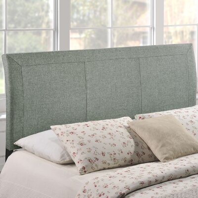 Bal Harbour Queen Upholstered Sleigh Headboard Upholstery: Gray