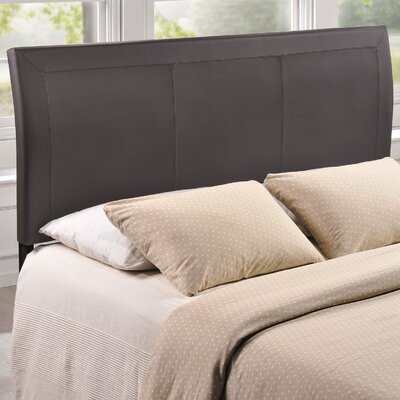 Bal Harbour Queen Upholstered Sleigh Headboard Upholstery: Brown