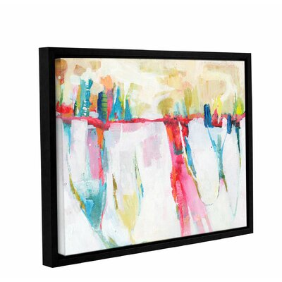 'Cityline Swing' by Donna Weathers Framed Painting Print