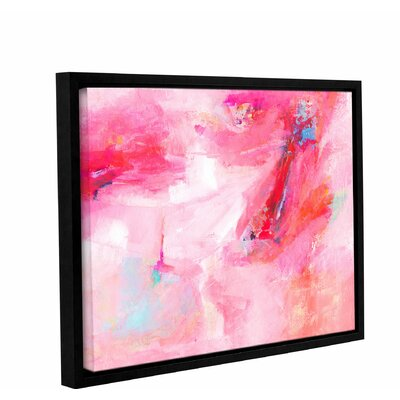 'While She Dances' by Donna Weathers Framed Painting Print Size: 14