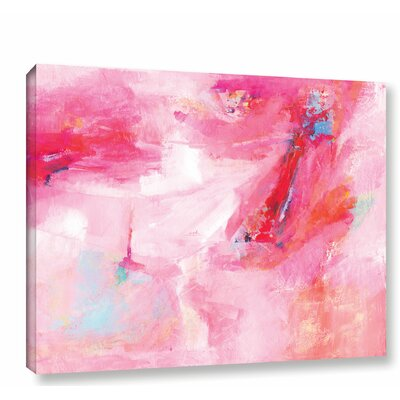 'While She Dances' by Donna Weathers Painting Print on Wrapped Canvas Size: 14