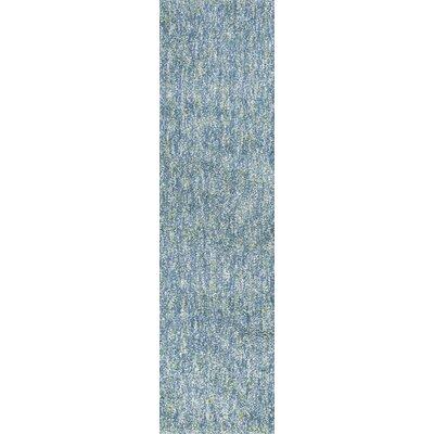 Bouvier Heather Hand-Woven Seafoam Area Rug Rug Size: Runner 23 x 76