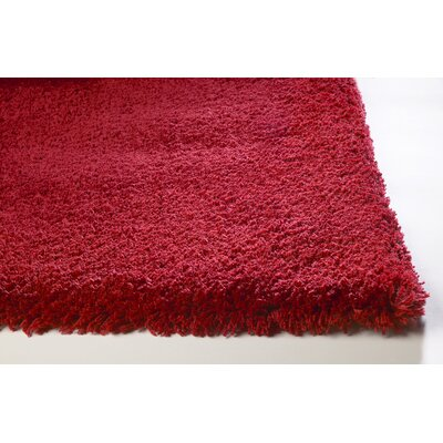 Bouvier Red Area Rug Rug Size: 5 x 7