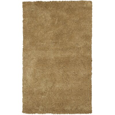 Bouvier Gold Area Rug Rug Size: Rectangle 76 x 96