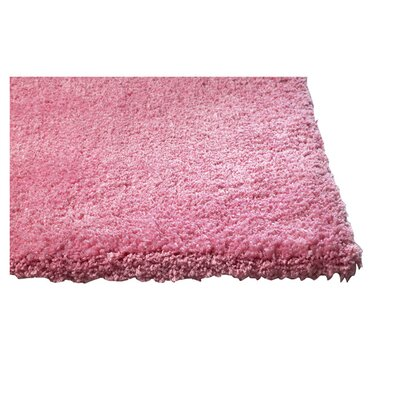 Bouvier Hot Pink Area Rug Rug Size: 23 x 39