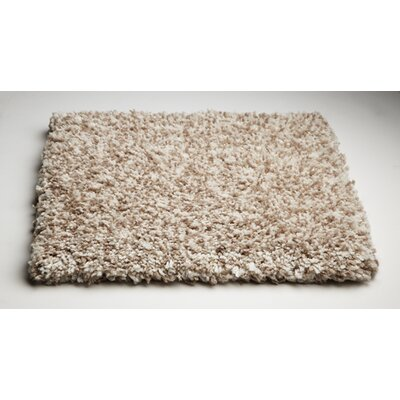 Bouvier Heather Ivory Area Rug Rug Size: 3'3