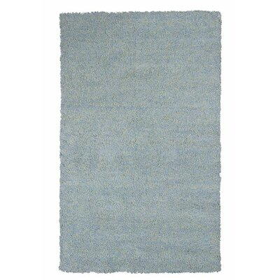 Bouvier Heather Blue Area Rug Rug Size: 33 x 53
