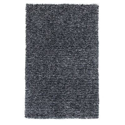 Bouvier Heather Black Area Rug Rug Size: 23 x 39