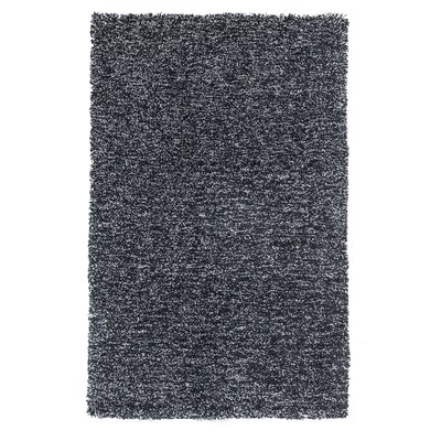 Bouvier Black Heather Area Rug Rug Size: Round 8