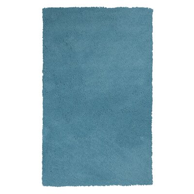 Bouvier Highlighter Blue Area Rug Rug Size: 8 x 11
