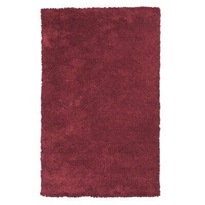 Bouvier Red Area Rug Rug Size: Rectangle 9 x 13