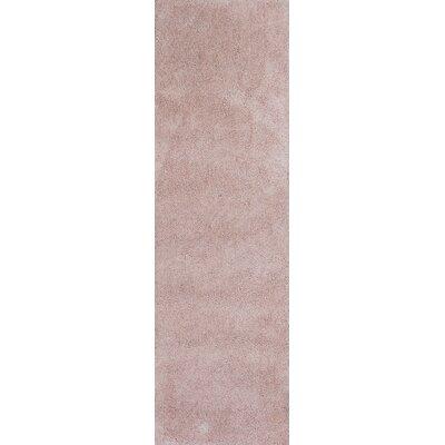 Bouvier Rose Pink Area Rug Rug Size: Runner 23 x 76