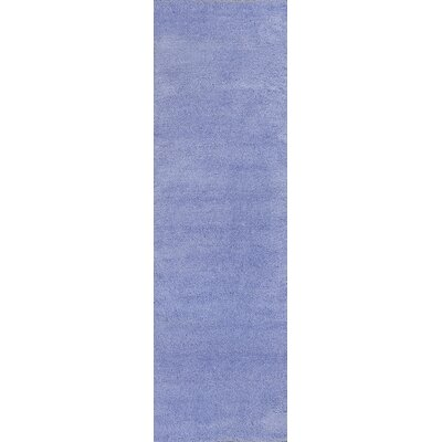 Bouvier Purple Area Rug Rug Size: Runner 23 x 76