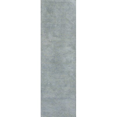 Bouvier Blue Heather Area Rug Rug Size: Runner 23 x 76