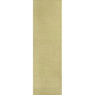 Bouvier Canary Yellow Area Rug Rug Size: Runner 23 x 76