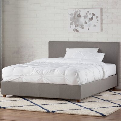 Mammoth Lakes Linen Upholstered Platform Bed Size: Twin