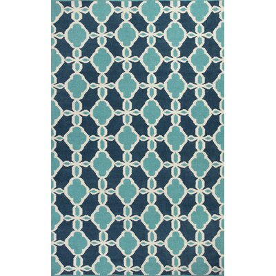 Hanscom Turquoise Serenity Area Rug Rug Size: 3'3