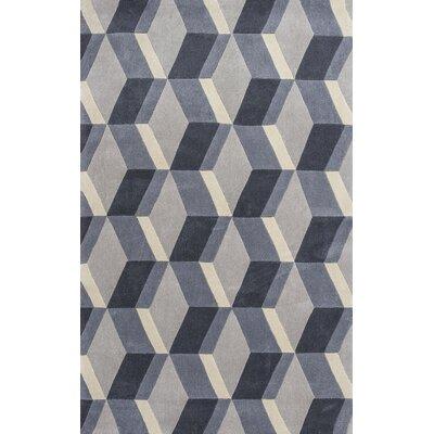 Henshaw Gray Vista Area Rug Rug Size: 33 x 53