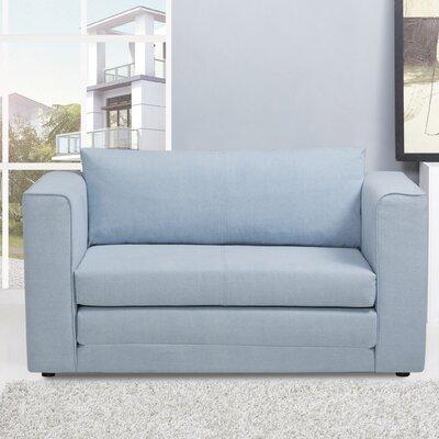 Sansbury Sleeper Upholstery: Sky Blue