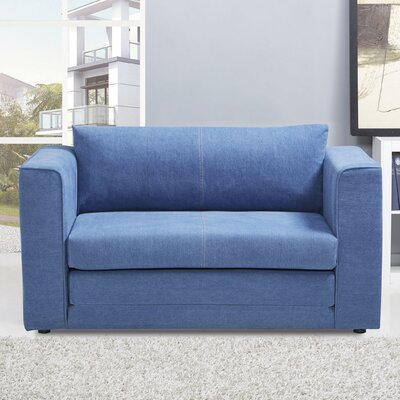 Sansbury Sleeper Upholstery: Royal Blue