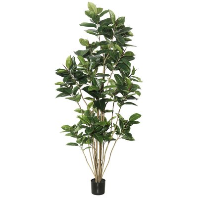 Artificial Rubber Foliage Tree in Pot